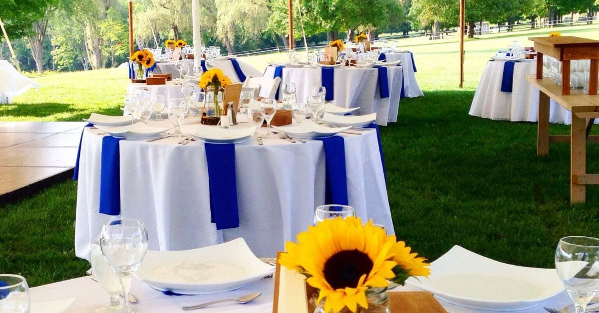 3 Tent Styles for Your Spring Wedding